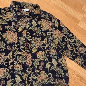 Vintage women's blazer oversized look